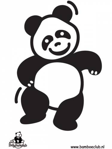 Kleurplaten Dieren Bamboeclub.Pandabeer Wnf Bamboeclub Dieren Kleurplaten Print Een Mooie