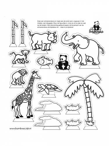 kijkdoos bamboeclub   wnf bamboeclub   dieren   kleurplaten   print een mooie kleurplaat
